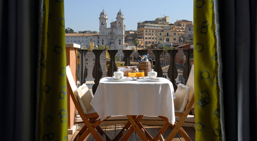 Most Romantic Hotel Rooms In Rome
