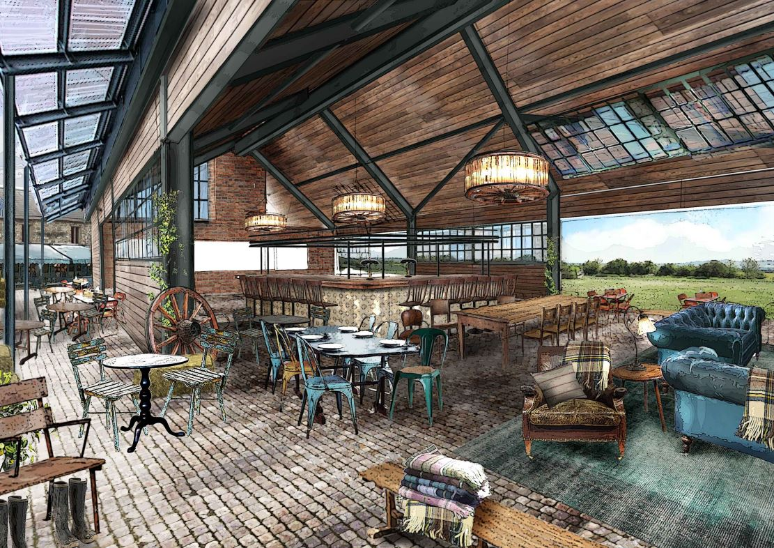 Restaurant Floor Plans Soho Farmhouse By Soho House Finally Some Images Of The