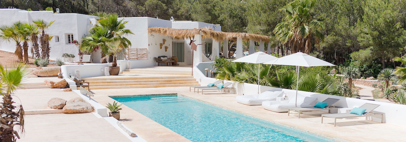 Pure House Ibiza is a boutique hotel in Ibiza in a restored old finca. 4 rooms only and a very personal service.  Great for yoga retreats too.  #ibiza #boutiquehotel #yogaretreat #zenhotel #hotelwithpool #spainhotel