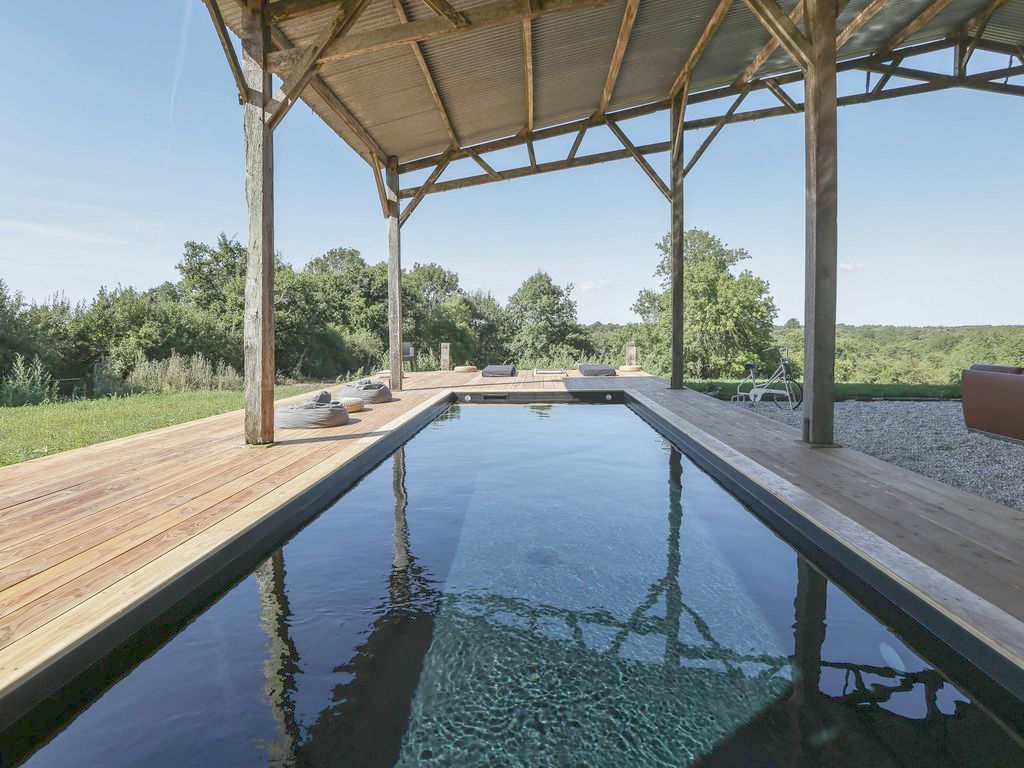 A wonderful holiday rental with heated pool for design lovers in my ...