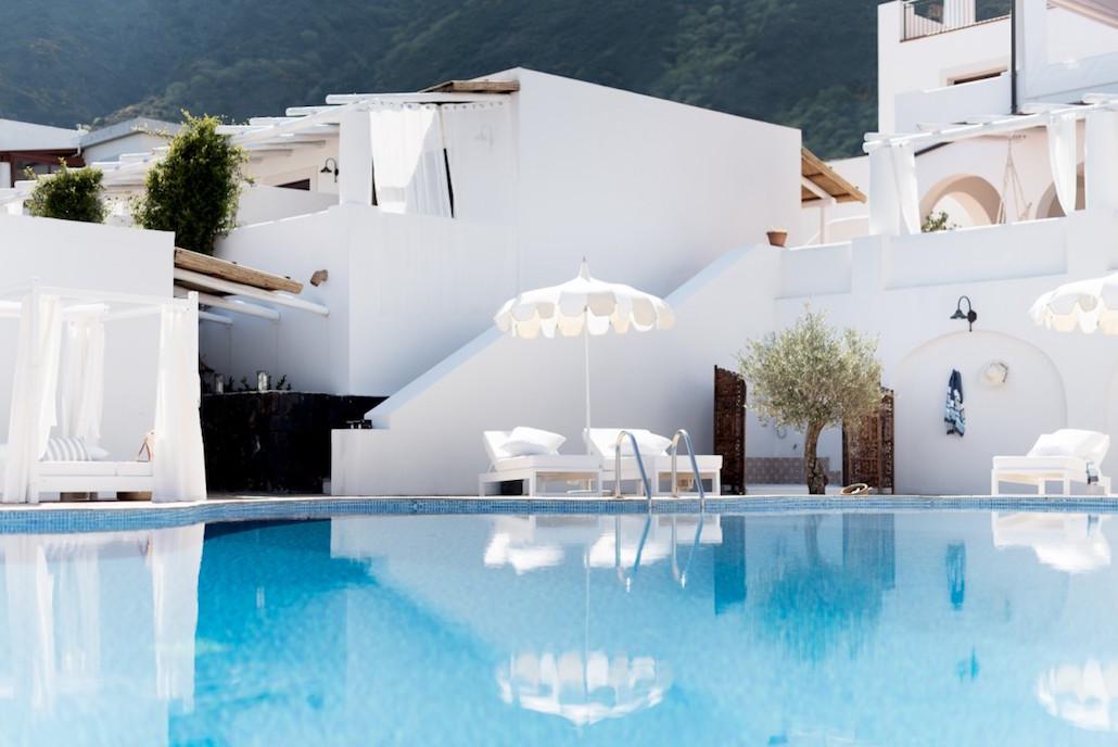 Principe Di Salina Is A Boutique Hotel With Pool On The Aeolian Island Of  Salina,